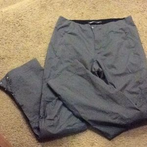 Nau hiking/biking pants, size 8, gray, waterproof